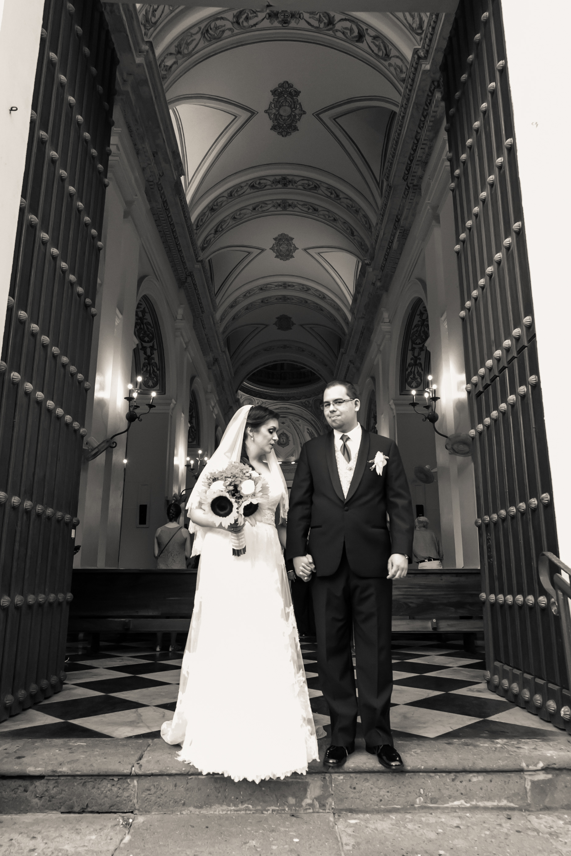 Destination Wedding in Old San Juan Cathedral in Puerto Rico by Couture Bridal Photography