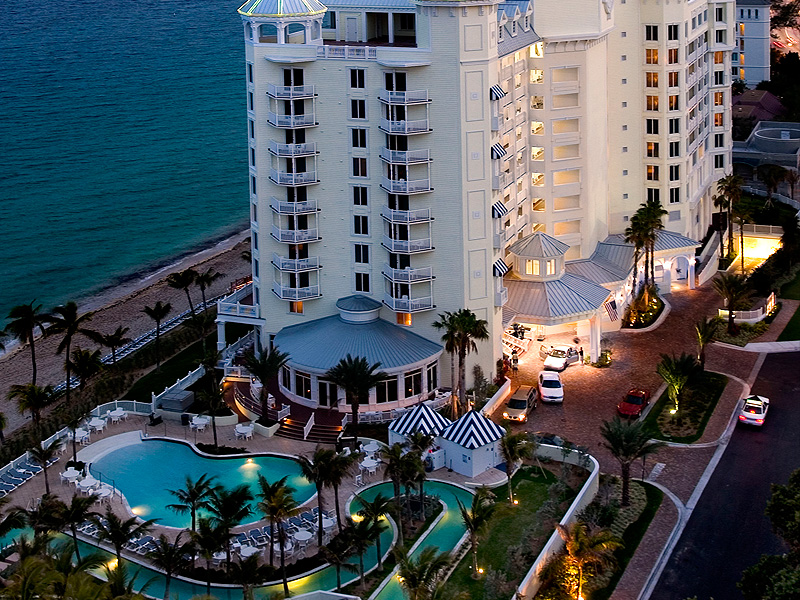 aerial view of Pelican Grand Beach Resort Fort Lauderdale, Florida by Alfredo Valentine Couture Bridal Photography The Pelican Grand Beach Resort is a favorite wedding venue for Alfredo Valentine Couture Bridal Photography