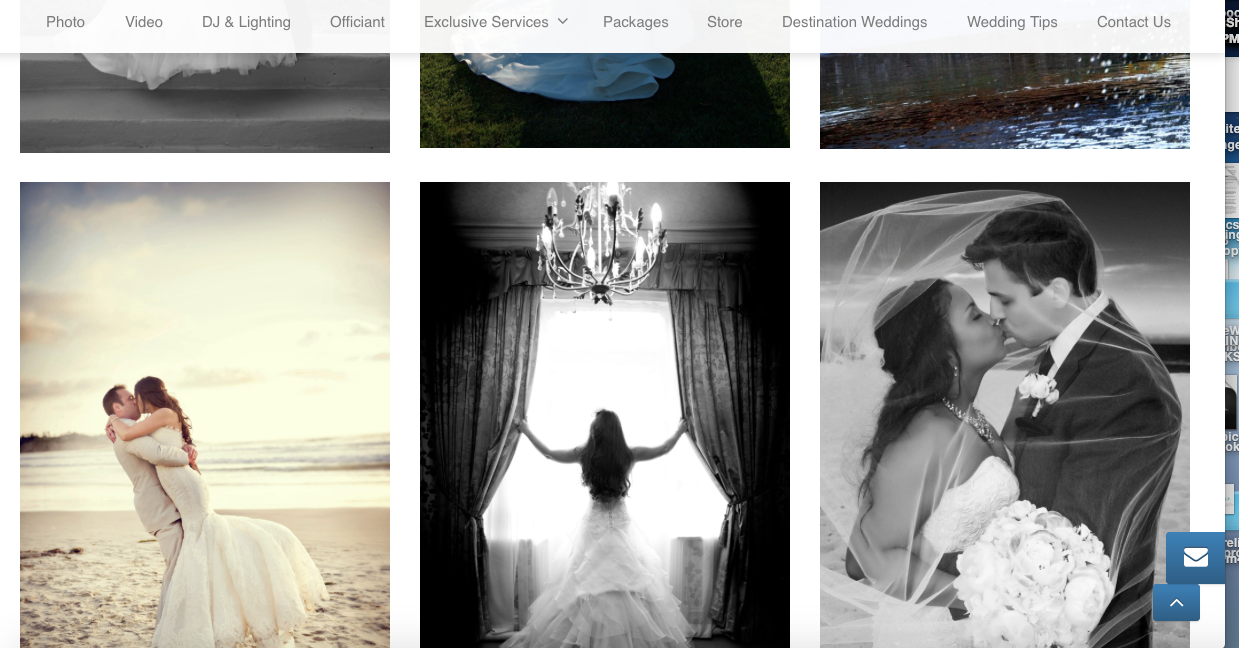 Screen Shot 2015-09-25 hitchmeweddings.com showing stolen image